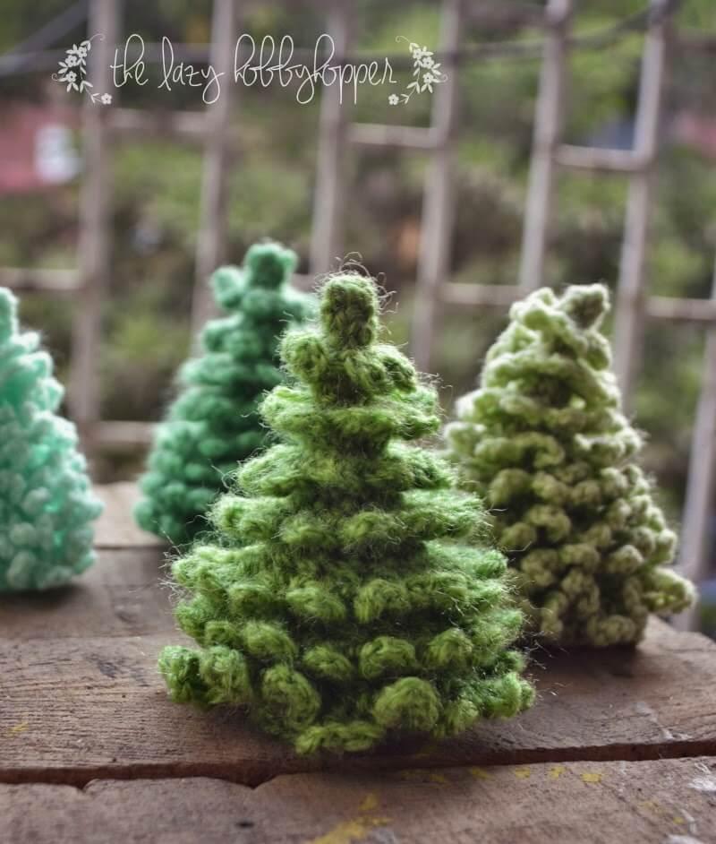 Knit Hat Christmas Tree