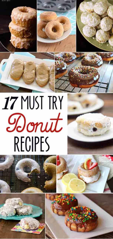 seventeen must try donut recipes