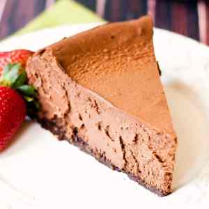 decadent and rich chocolate cheesecake recipe