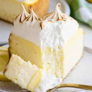 creamy and decadent lemon meringue cheesecake recipe