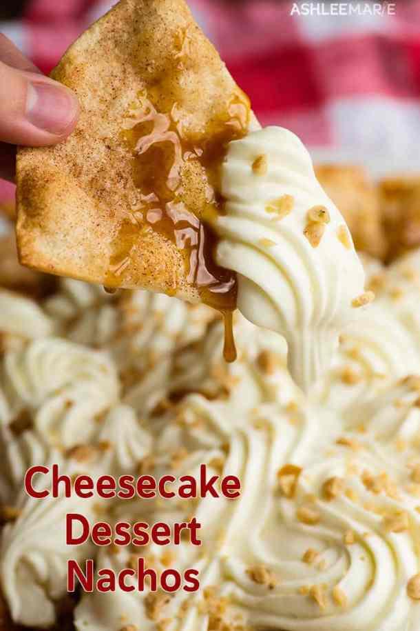 toffee cheesecake nacho recipe