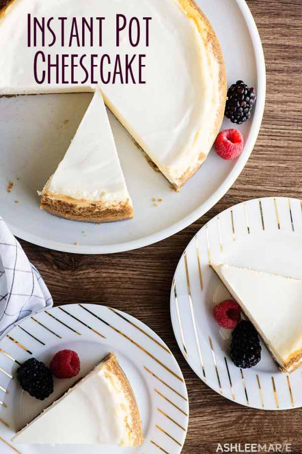 instant pot new york style cheesecake