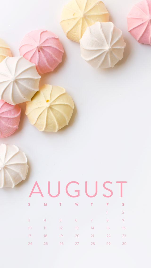 Wallpaper Girl Stuff Happy August Desktop Calendar Iphone Wallpaper Ashlee