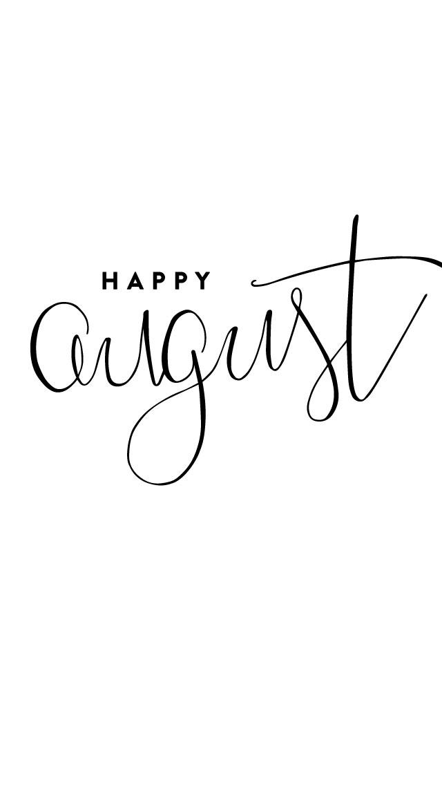 August Desktop & IPhone Wallpapers