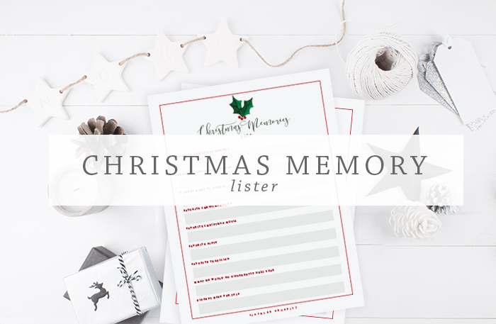 Christmas Memory Lister