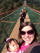 Hanging out on the bridge