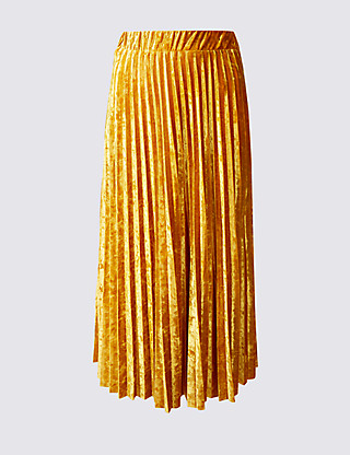 M&S Gold Skirt