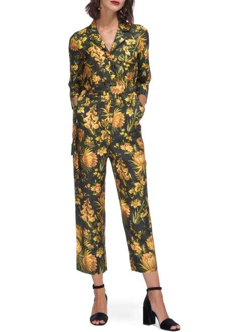 Whistles Silk Jumpsuit