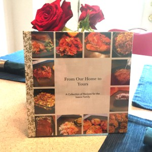 A Customized cookbook is a great creative wedding gift idea.