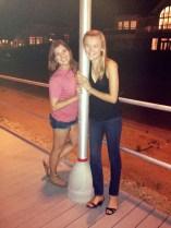 Late night boardwalk