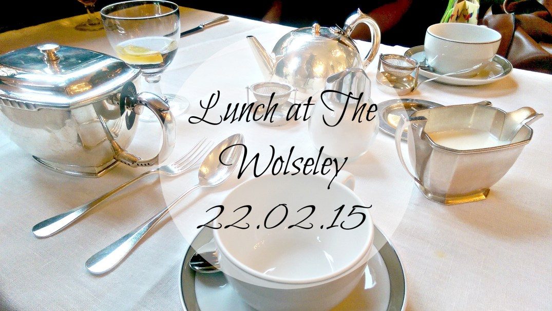 lunch at The Wolseley