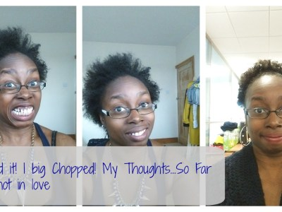 Ive big chopped! ashleighsworld.com