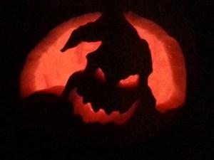 Oogie Boogie pumpkin