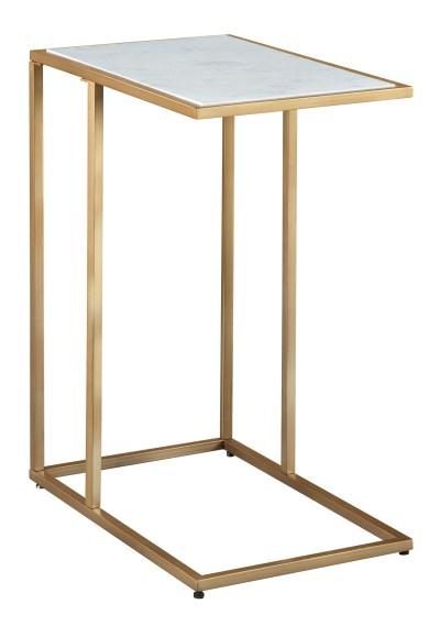 ゴールドとマーブルのサイドテーブル