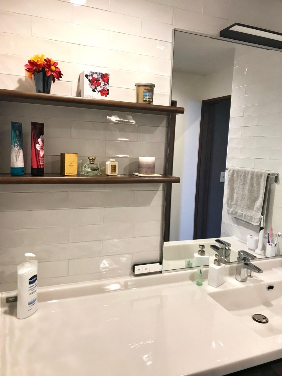 洗面室インテリア