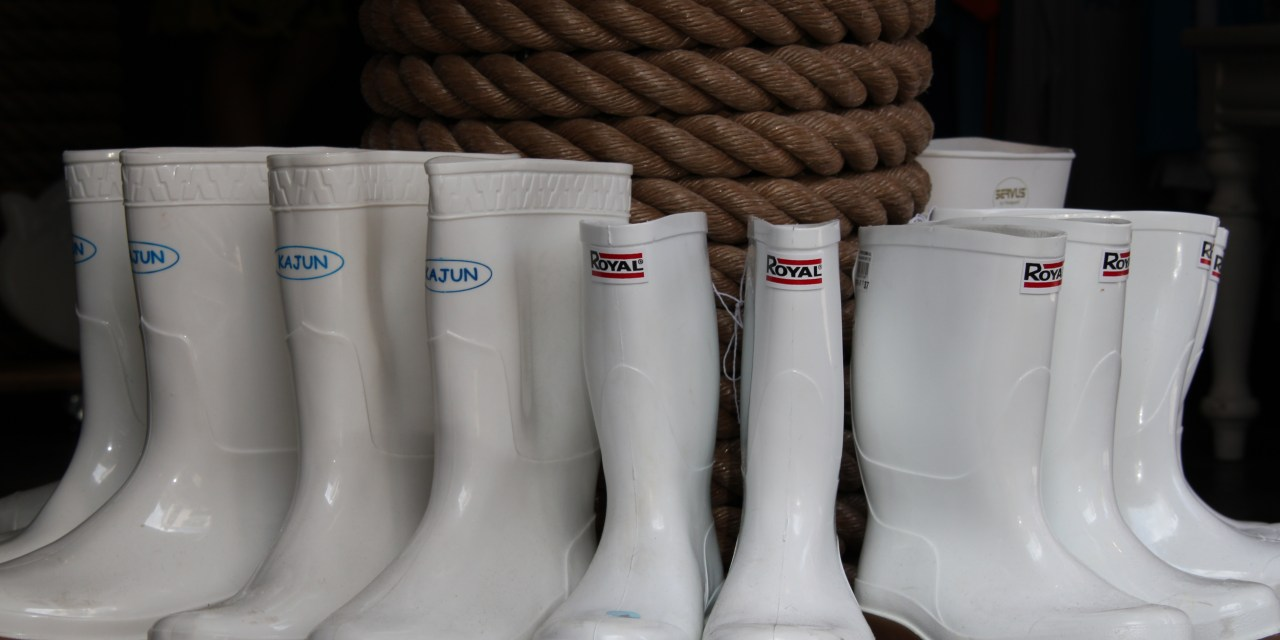 Dear Life – My Favorite Boots Are White & Rubber.