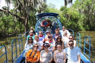 Airboat Tour by Arthur