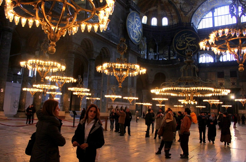 Finally Laying Eyes on the Magnificent Hagia Sophia