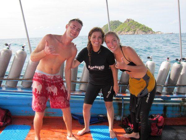 open water certification koh tao