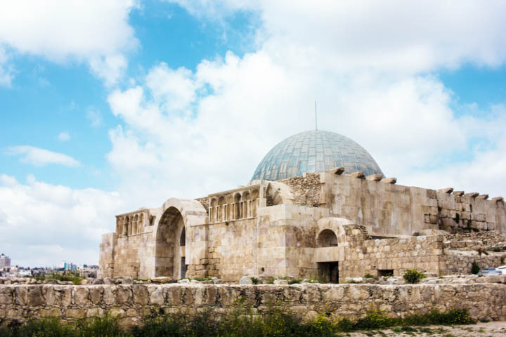 Amman Citadel blue dome