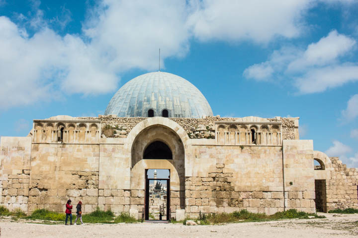 Amman citadel dome