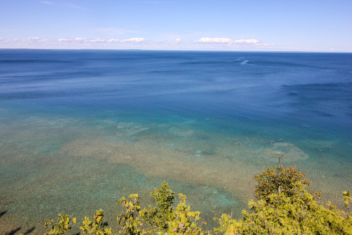 Mackinac Island Water- So Blue!