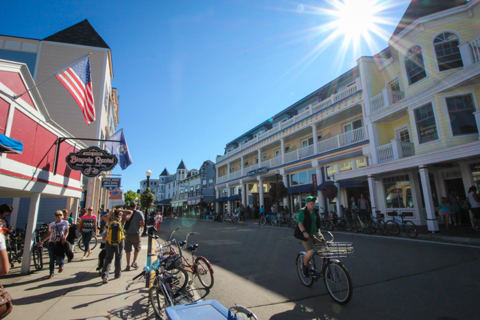 Summer on Mackinac Island
