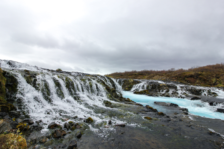 Waterfalls near Reyjavik
