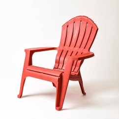 Red Adirondack Chairs Cane Back Chair Ashley And Company
