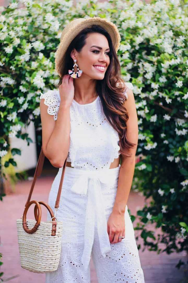 Life Is Good Eyelet Jumpsuit