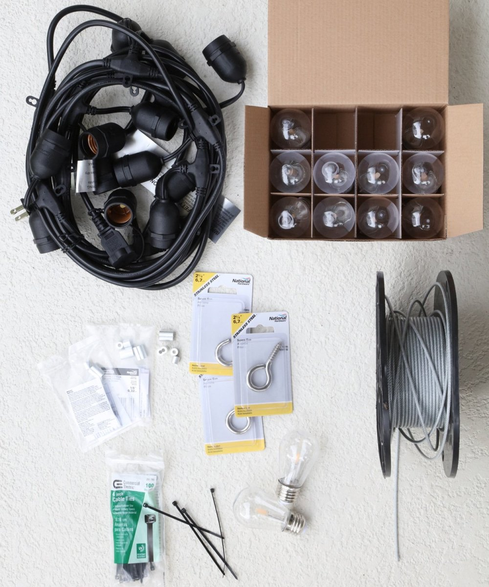 medium resolution of blogger ashley brooke s husband ryan shares how to hang diy string lights in your