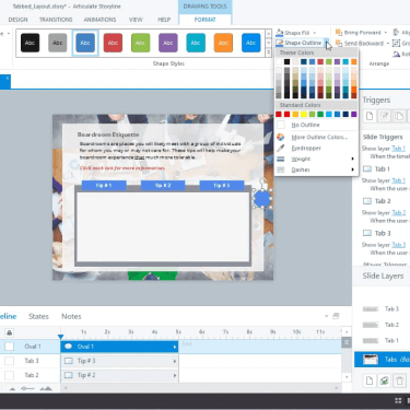 Custom PREV/NEXT Buttons in Articulate Storyline