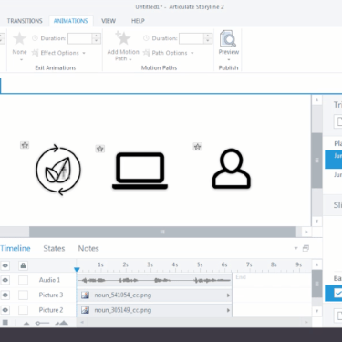 Synchronize Animations to Audio in Articulate Storyline