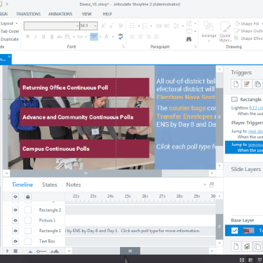 Send Back/Send Front Functionality in Articulate Storyline