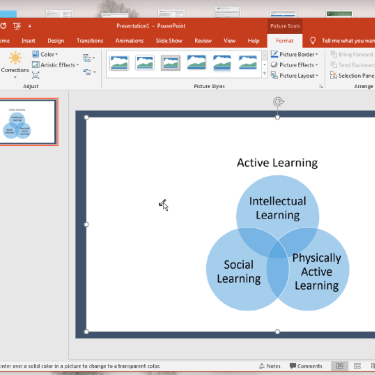 Make an Image's Background Transparent in Microsoft PowerPoint