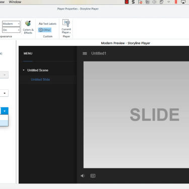 Change Text from Being Read Left to Right in Articulate Storyline