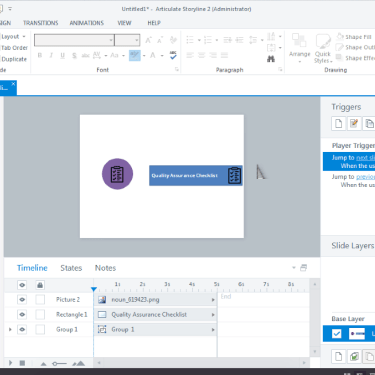 Creating Custom Icons in Articulate Storyline Using The Noun Project