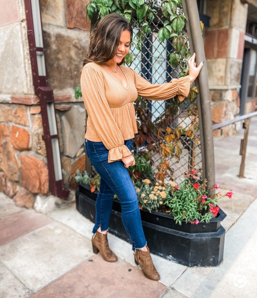Light Brown Pink Lily Boutique from ashleymarieblog_ Instagram Recap
