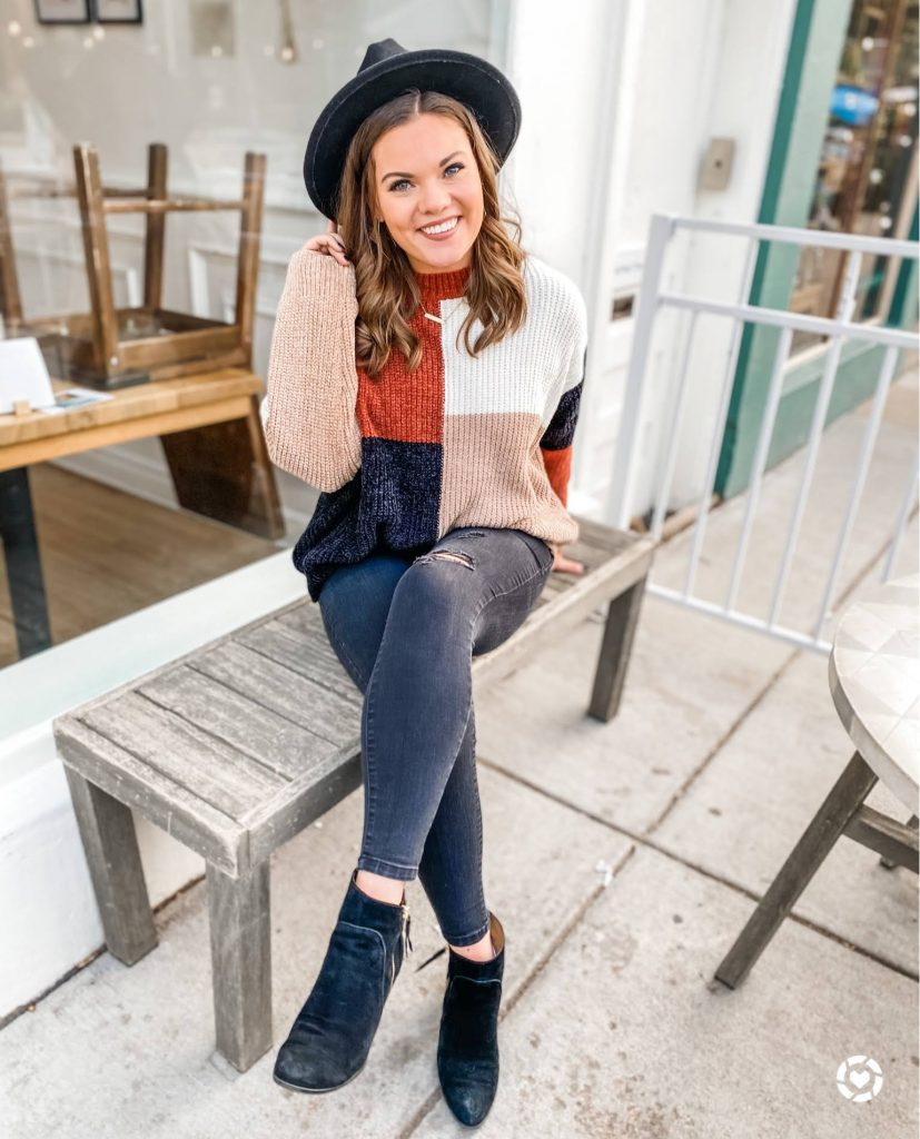 Fall Inspired outfit from ashleymarieblog_ Instagram Recap