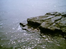Rocks at Llantwit 2003