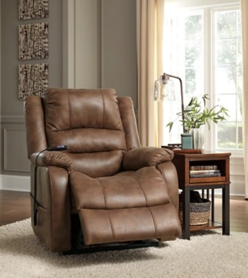 recliner living room set decor ideas power sofas loveseats and recliners ashley furniture homestore large yandel lift saddle rollover
