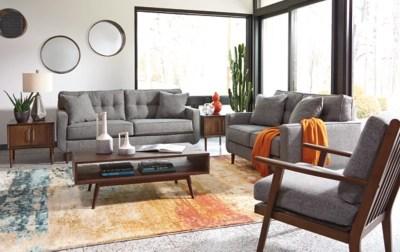 Zardoni Loveseat  Ashley Furniture HomeStore