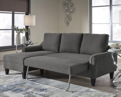 sofas living room chaise furniture couches ashley homestore large jarreau sofa sleeper gray rollover