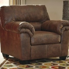 Brown Living Room Chairs Wall Units Photos Accent Ashley Furniture Homestore Large Bladen Chair Coffee Rollover