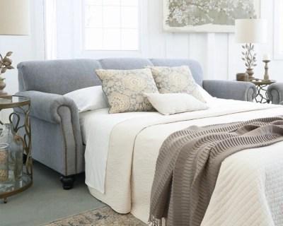 sleeper sofas queen size cream fabric corner sofa aramore | ashley furniture homestore
