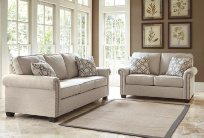 2 piece living room furniture home decorating ideas sets furnish your new ashley homestore farouh sofa and loveseat