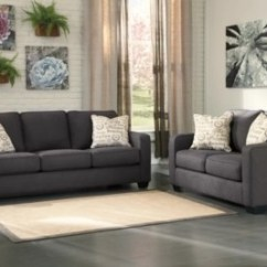 Ashley Alenya Quartz Sofa Reviews Dark Gray Leather Reclining And Loveseat Furniture Homestore Charcoal Large