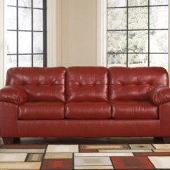 Ashley Faux Leather Sofa Reviews Tylosand 3 Seater Cover Alliston Furniture Homestore Salsa Large