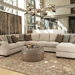 Ashley Furniture Sectional Sofa Reviews Rattan Slipcover Wilcot 4 Piece With Chaise Homestore Large