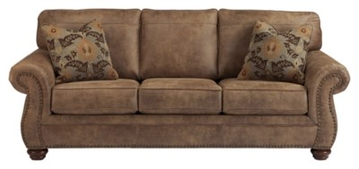 faux leather sectional sofa ashley sofas and chairs at next larkinhurst furniture homestore large